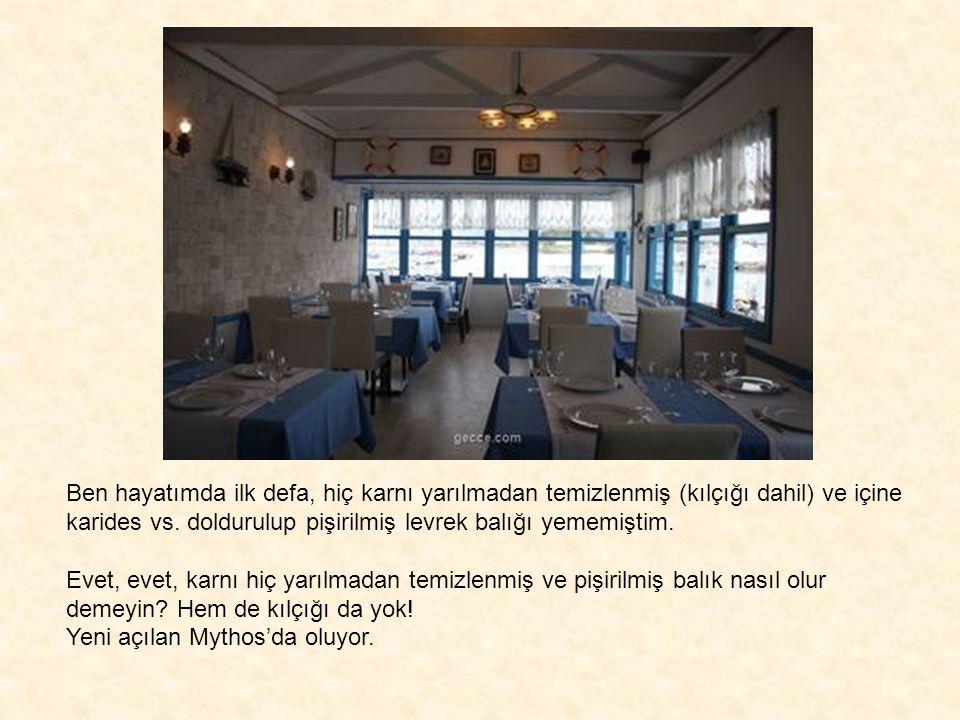 MYTHOS'A MUTLAKA GİDİN! KENAN ERÇETİNGÖZ kenanercetingoz@gecce.com