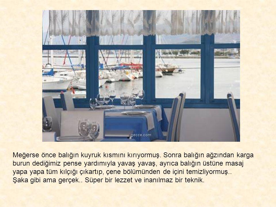 MYTHOS FISH & STEAK GOURMET DINING ISKELE BALIKCI LİMANI URLA-IZMIR REZ: 0232 752 31 34 - 0541 281 77 99 www.idealideas.com.tr