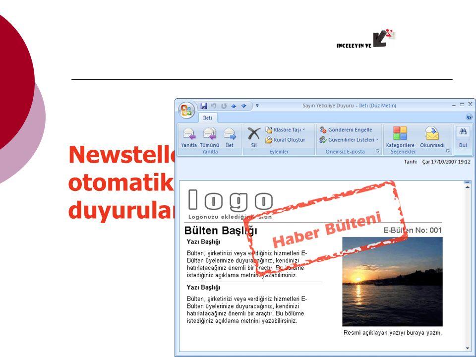 Sitenizde haberler, başka sitelerden dinamik içerikler yayınlayın RSS ÖZELLİĞİ inceleyin ve