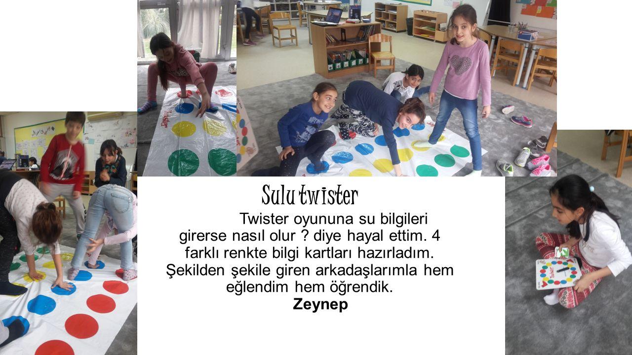 Sulu twister Twister oyununa su bilgileri girerse nasıl olur .