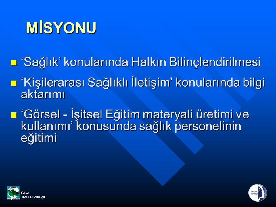 Bursa Sağlık Müdürlüğü TEŞEKKÜR EDERİZ