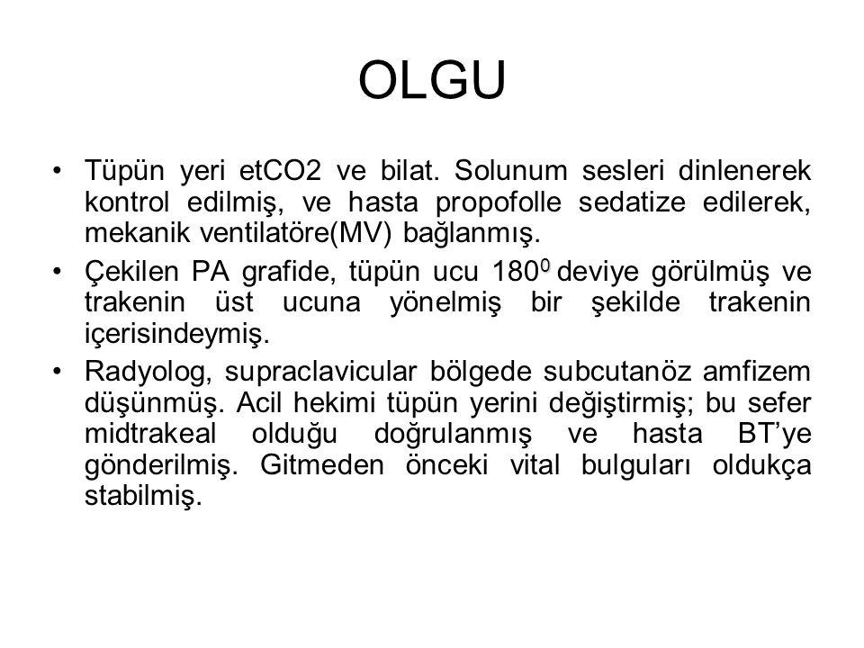 OLGU Tüpün yeri etCO2 ve bilat.