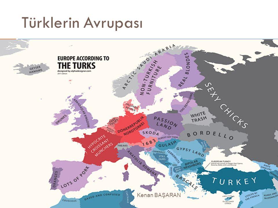 Türklerin Avrupası Kenan BAŞARAN