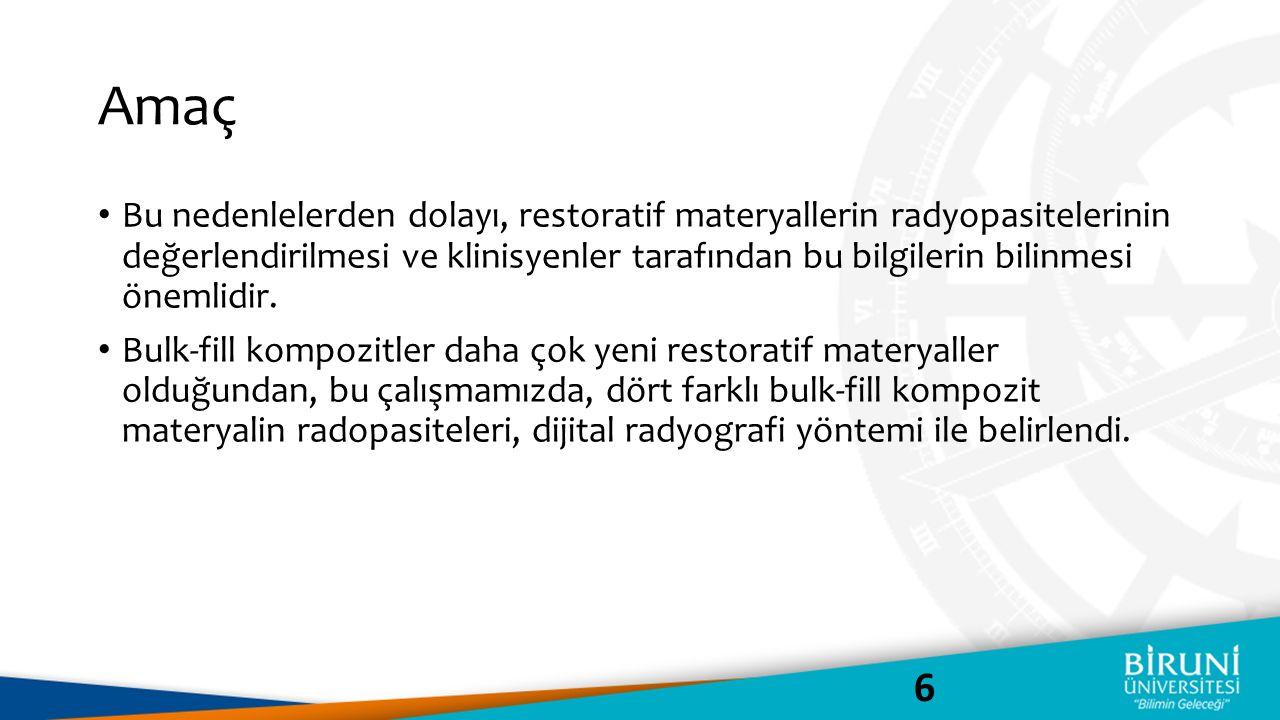 Materyal & Metot 7