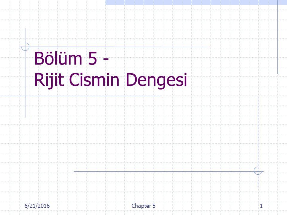 6/21/2016Chapter 51 Bölüm 5 - Rijit Cismin Dengesi