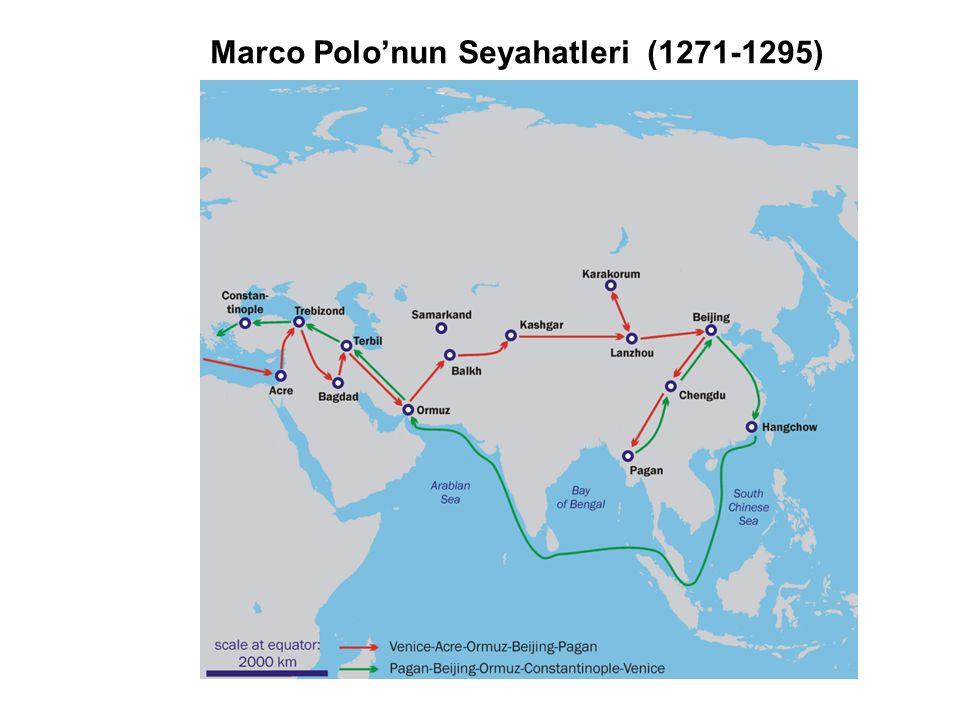 İpek yolu ve Baharat Ticareti (1453)
