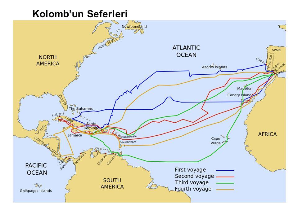 Kolomb'un Seferleri