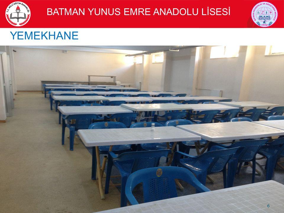YEMEKHANE BATMAN YUNUS EMRE ANADOLU LİSESİ 6