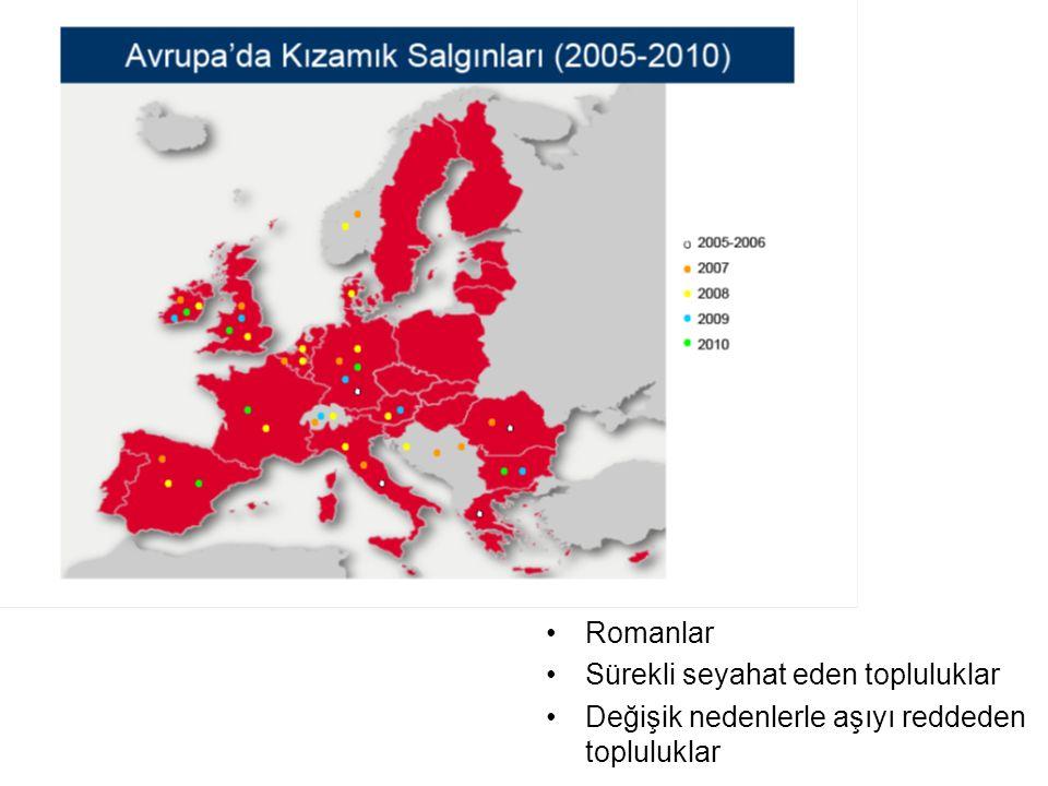 AMAÇ Türkiye'de kızamık sürveyansının eliminasyon hedefine ulaşıldığının kanıtlanması ve olası bir salgının erken tespiti ve etkin salgın yanıtı ile kontrol altına alınmasının sağlanması