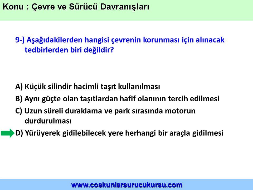 20-) Aşağıdakilerden hangisi asit yağmurlarının oluşumuna yol açabilir.