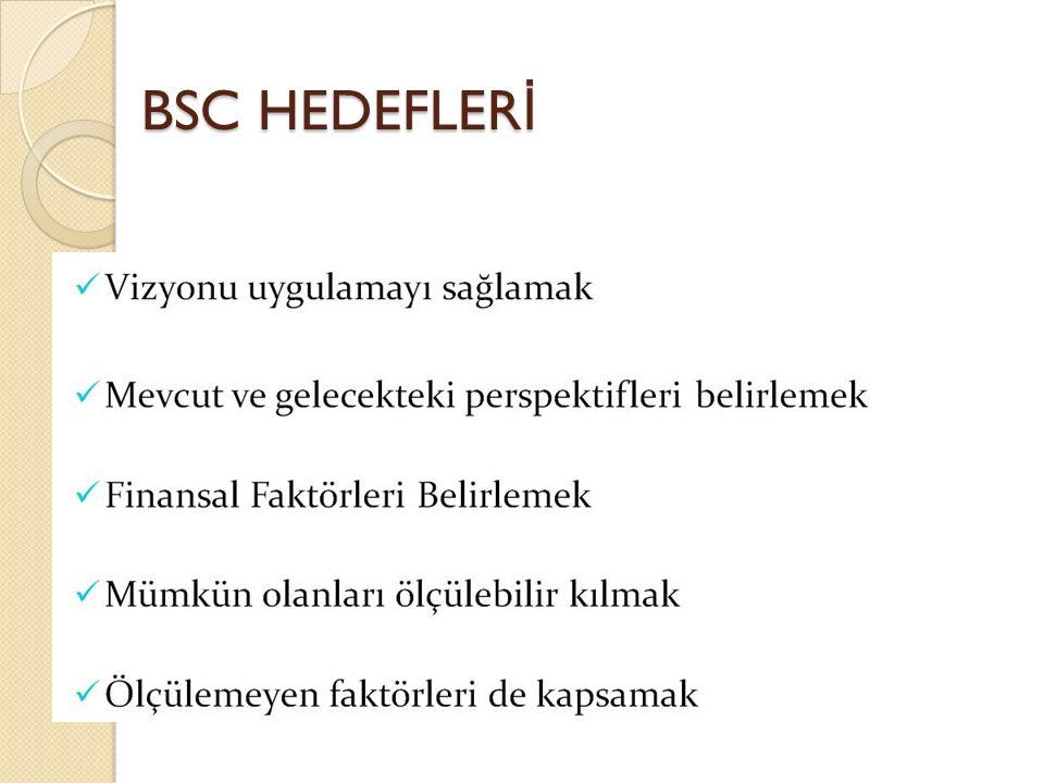 BSC HEDEFLER İ