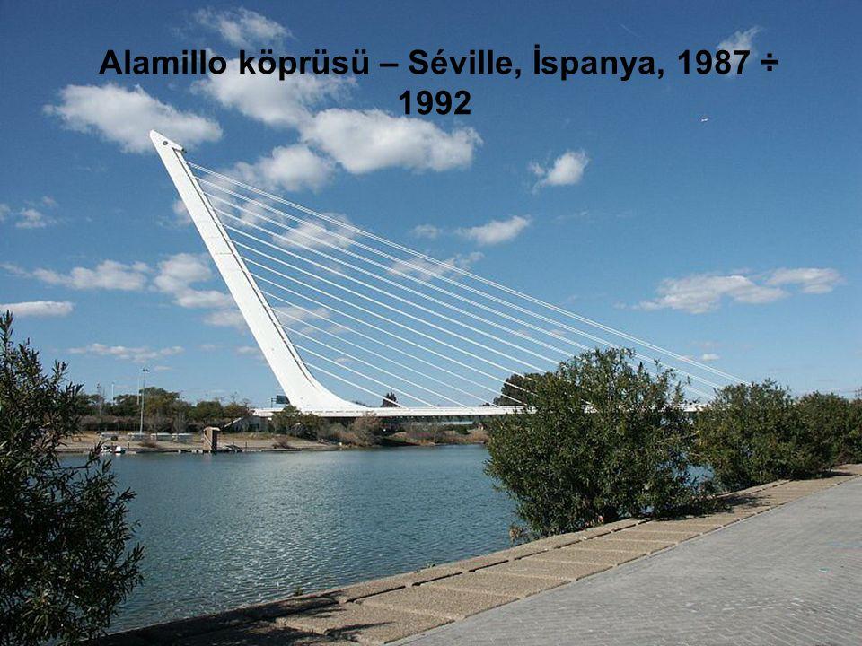 Santiago Calatrava İşte eserlerinden birkaçı. 1951 yılında Valencia'da doğdu. 1969-1974 arasında Valencia'daki Escuela Tecnica Superior de Arquitectur