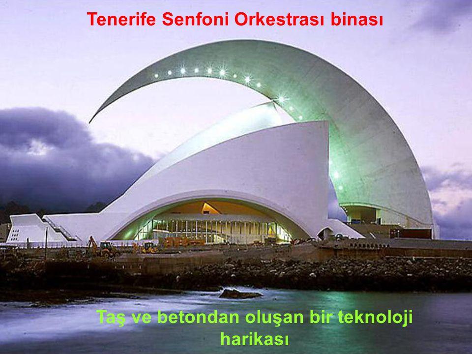 Tenerife Senfoni Orkestrası binası Santa Cruz, İspanya, 1991 ÷ 2003
