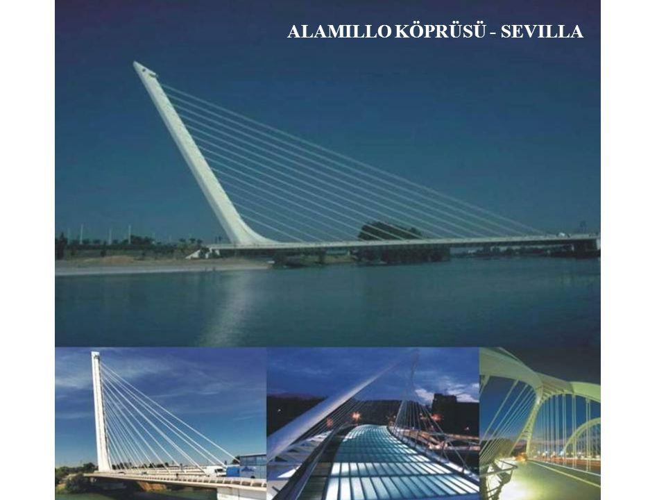 Alamillo köprüsü – Séville, İspanya, 1987 ÷ 1992