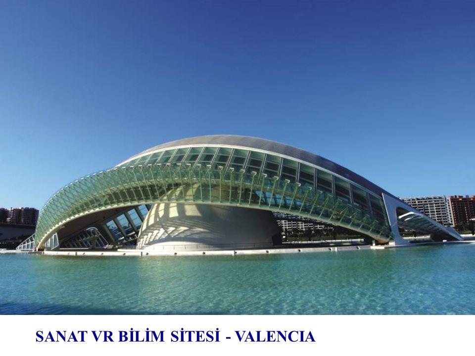 Valencia Sanat ve Bilim Sitesi, İspanya, 1995 ÷ 2005
