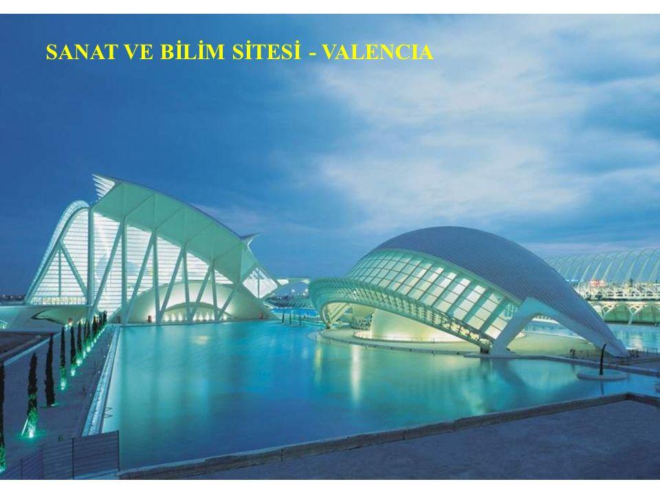 SANAT VR BİLİM SİTESİ - VALENCIA