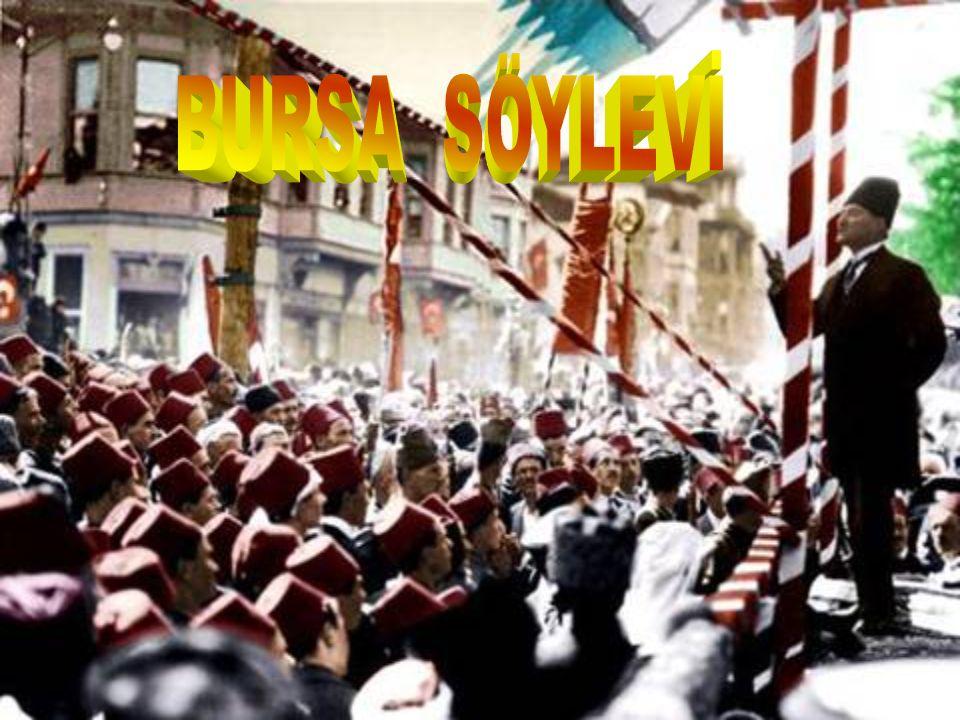 Milletin bağımsızlığını yine milletin azim ve kararı kurtaracaktır. M. Kemal Atatürk