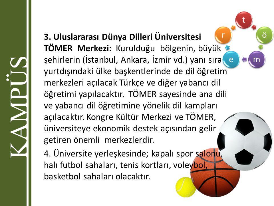 tömer 3. Uluslararası Dünya Dilleri Üniversitesi TÖMER Merkezi: Kurulduğu bölgenin, büyük şehirlerin (İstanbul, Ankara, İzmir vd.) yanı sıra yurtdışın
