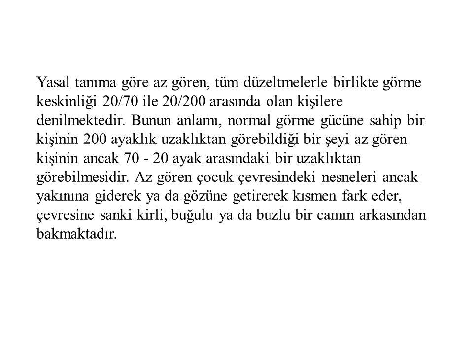 Danışmanlık Yapabilecek Kurumlar Türkiye Körler Vakfı Genel Merkezi.