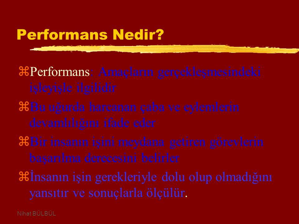 Performans Nedir.
