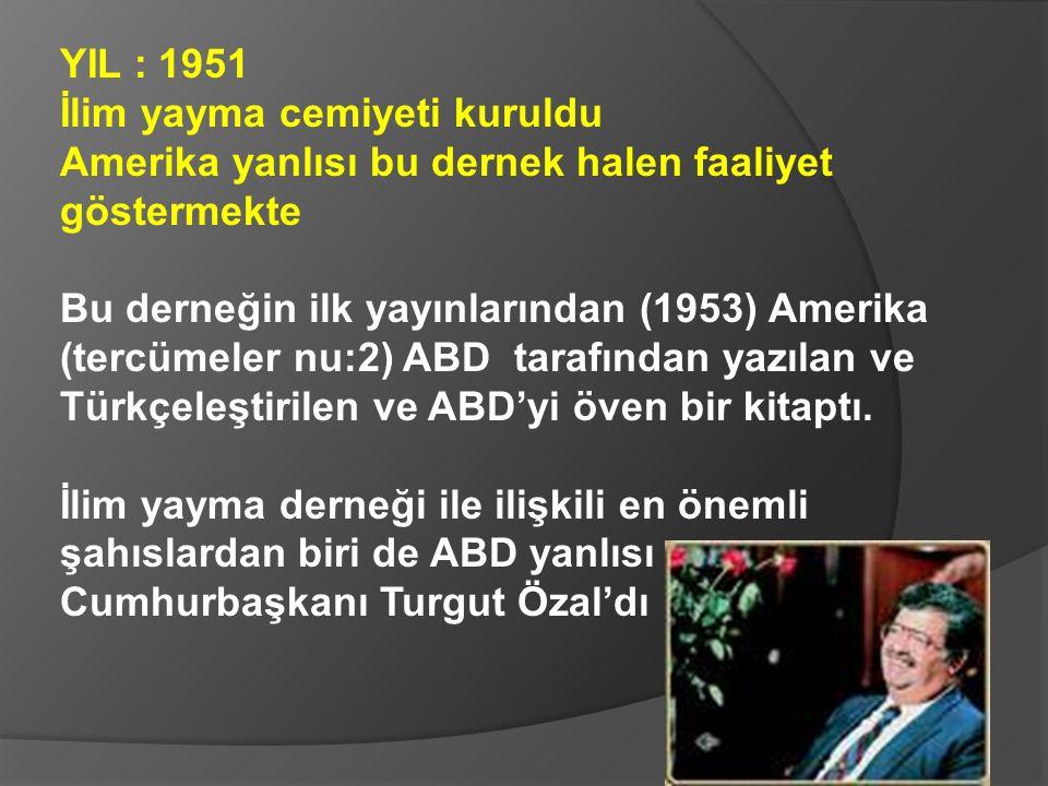 Cevdet Sunay ( 1960-66 Genel Kurmay Başkanı, 1966-73 Cumhurbaşkanı) şu sözleri sarf ediyor: Bu laik okullarda yetişen gençlere memleket idaresi teslim edilemez Laik okullara karşı imam hatip okullarını bir alternatif olarak görüyoruz.