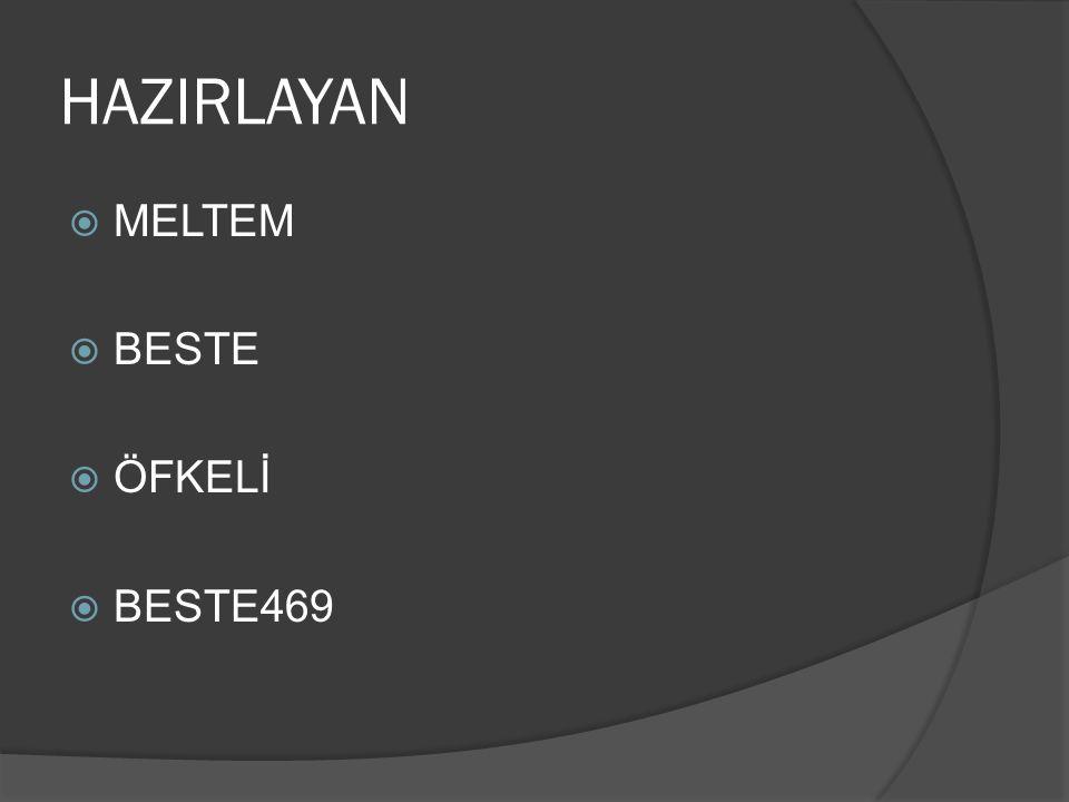 HAZIRLAYAN  MELTEM  BESTE  ÖFKELİ  BESTE469