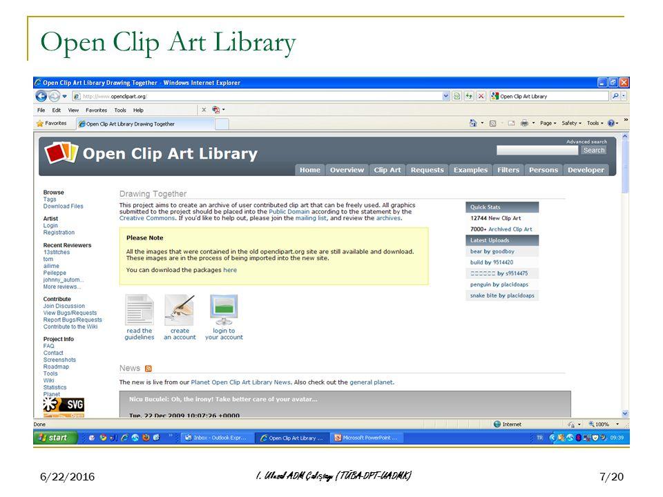 6/22/2016 I. Ulusal ADM Çalı ş tayı (TÜBA-DPT-UADMK) 7/20 Open Clip Art Library