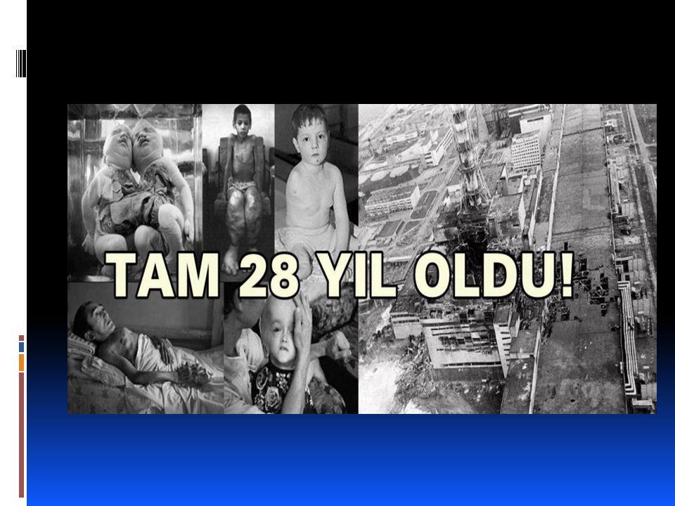 Çernobil felaketinin 28.