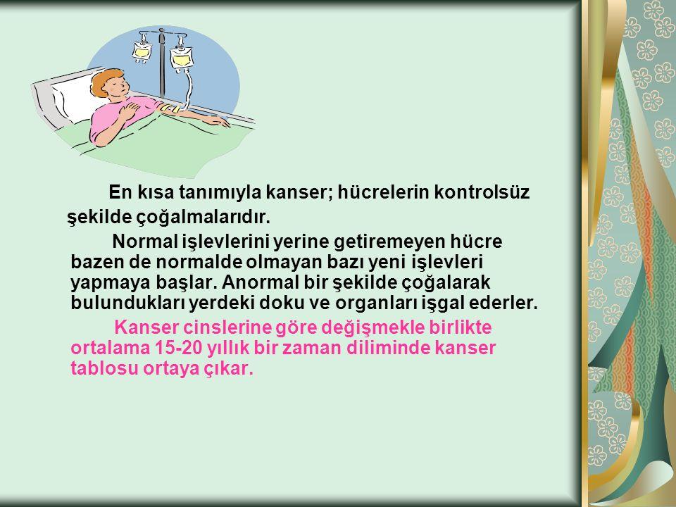 KANSERİN TEDAVİSİ 1.