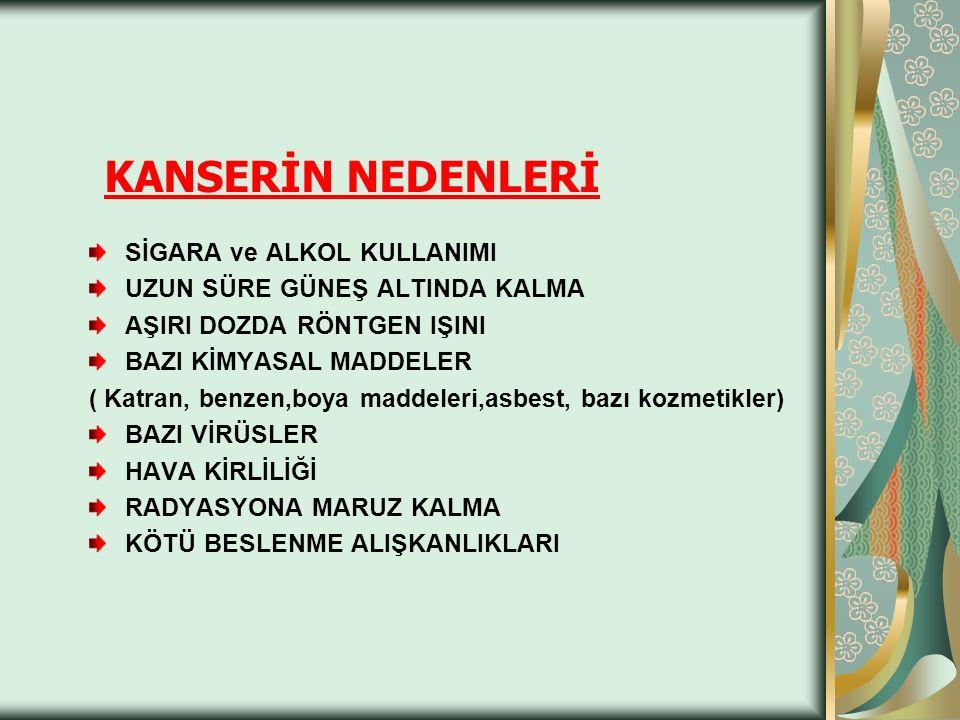 KANSER NEDEN OLUŞUR .1.