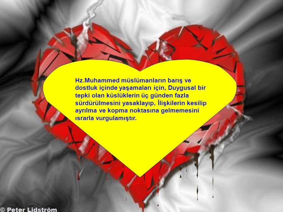 """Hz.Muhammed karşılıklı sevgi ve kaynaşmayı sağlamak için, """"selamlaşma""""nın yaygınlaşmasına çok özel bir önem vermiştir. Bu anlamda çeşitli hadislerinde"""