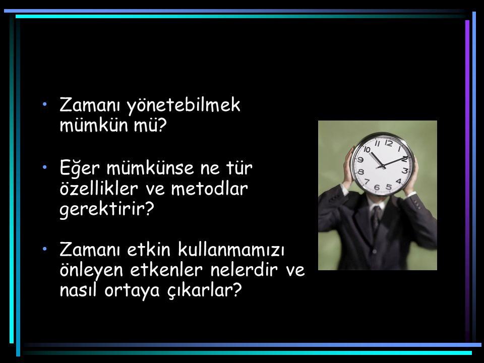 En İyi Zaman Günün en iyi ve en verimli zamanını tespit etmeliyiz.