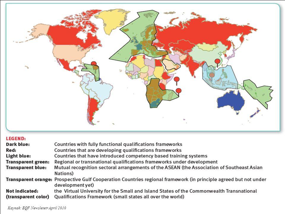 1.Kolay anlaşılabilir ve karşılaştırılabilir bir akademik derece sistemi: 2/3 kademeli (Lisans, Yüksek Lisans, Doktora) yükseköğretim sistemi Kademeler arası geçiş Ulusal Yeterlilikler Çerçevesi Bologna 1999 Leuven 2009 Viyena 2010 BOLOGNA SÜRECİ ULUSAL YETERLİLİKLER ÇERÇEVESİ VE KALİTE GÜVENCESİ 2.Kalite güvencesi Dış Kalite Güvence Sisteminin gelişim düzeyi Öğrenci Katılımı Uluslararası Katılım 3.