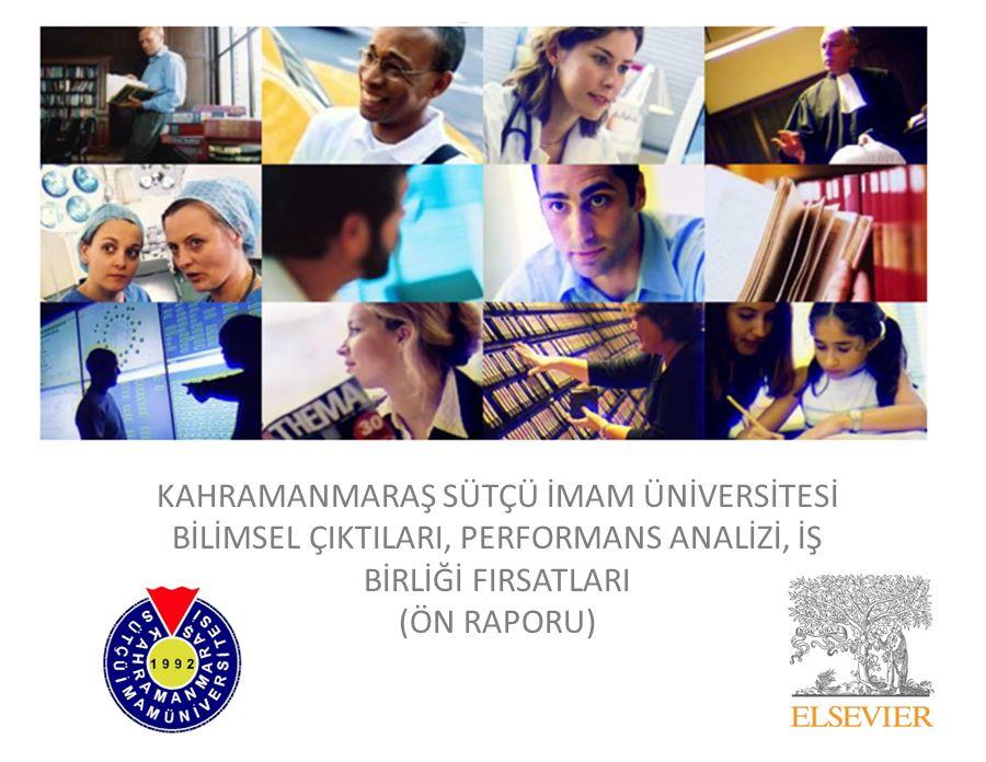 Kahramanmaraş Sütçü İmam Üniversitesi nin Potansiyel İşbirliği Yapabileceği, Ancak Henüz İşbirliği Yapmadığı Özel Sektör Kuruluşları (Agricultural and Biological Sciences) (İlk 18 Kurum) (2010-2015) 26