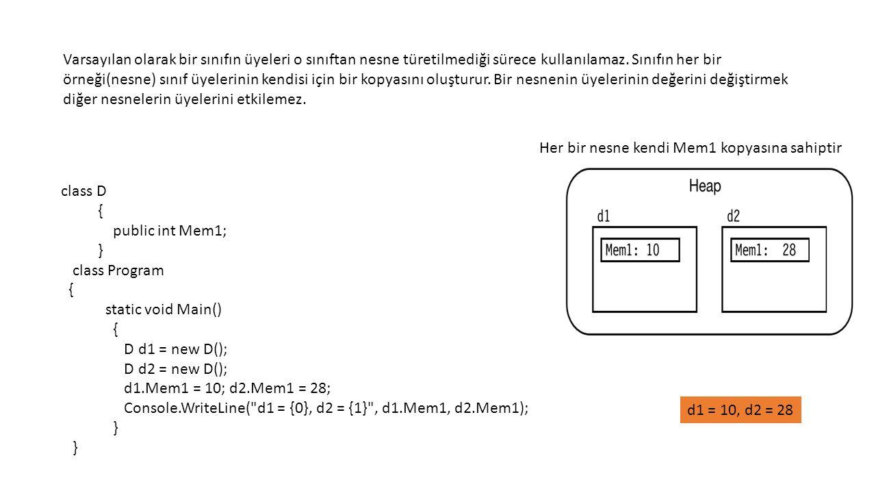 using System; using System.Collections.Generic; using System.Linq; using System.Text; using System.Threading.Tasks; namespace _16_saticSınıf { static class sklas //static sınıflar içinde static olmayan metot yada özellik yazılamaz.