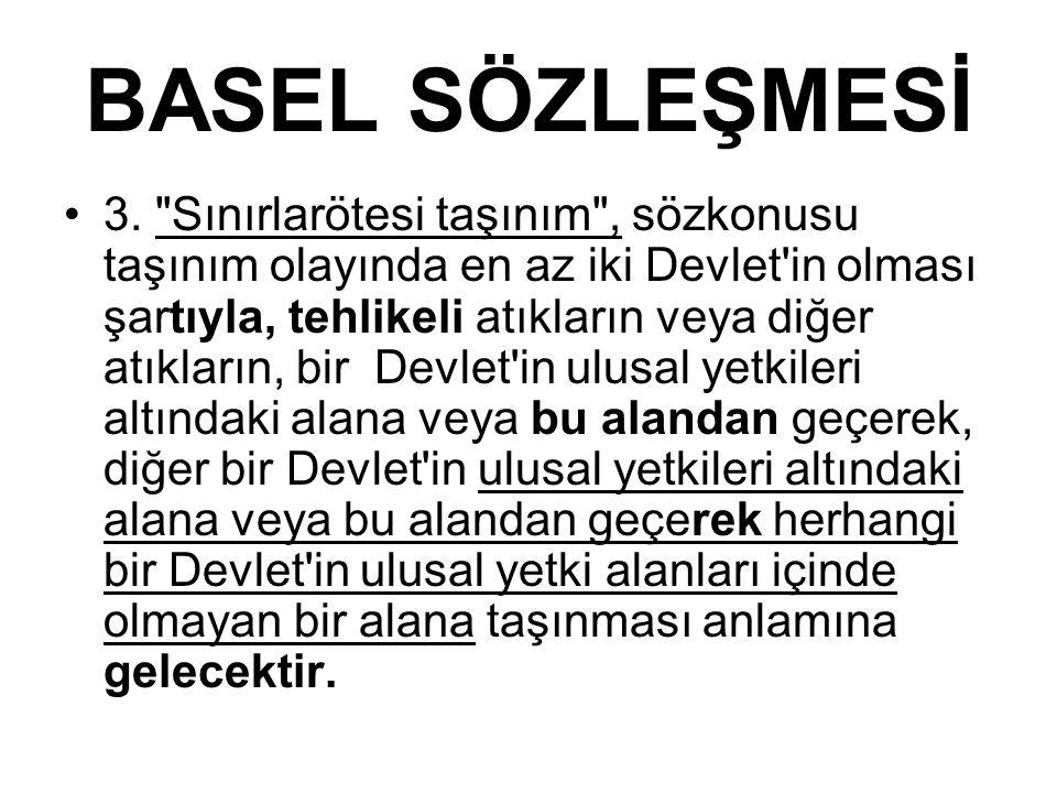 BASEL SÖZLEŞMESİ 3.