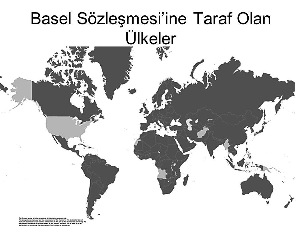 Basel Sözleşmesi'ine Taraf Olan Ülkeler