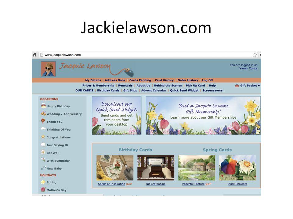 Jackielawson.com