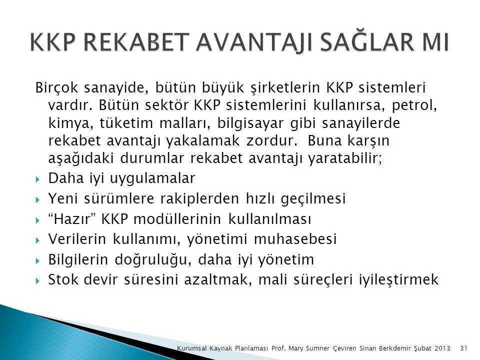 31Kurumsal Kaynak Planlaması Prof.