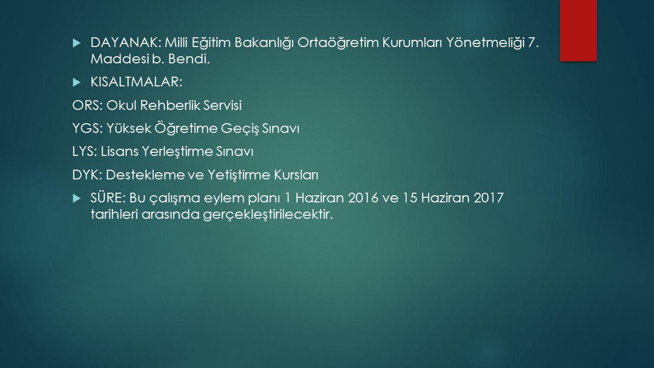 İKİNCİ KISIM SÜREÇ PLANI  2016-HAZİRAN 1- 11.