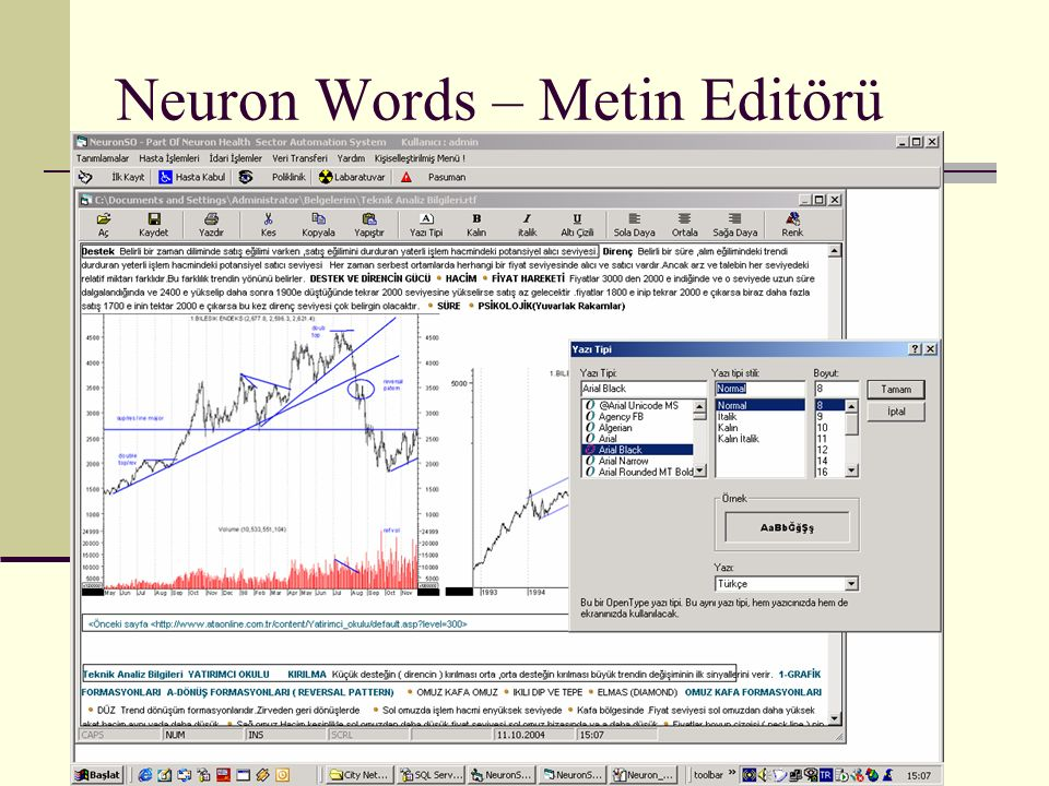 Neuron Words – Metin Editörü