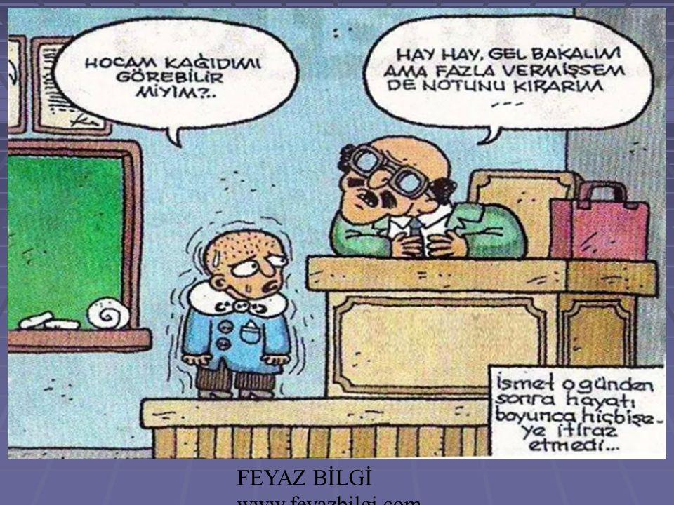 FEYAZ BİLGİ www.feyazbilgi.com 68