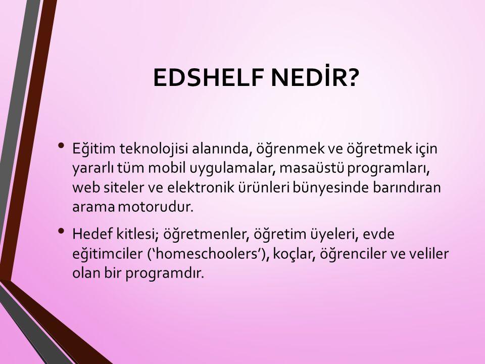 EDSHELF NEDİR.