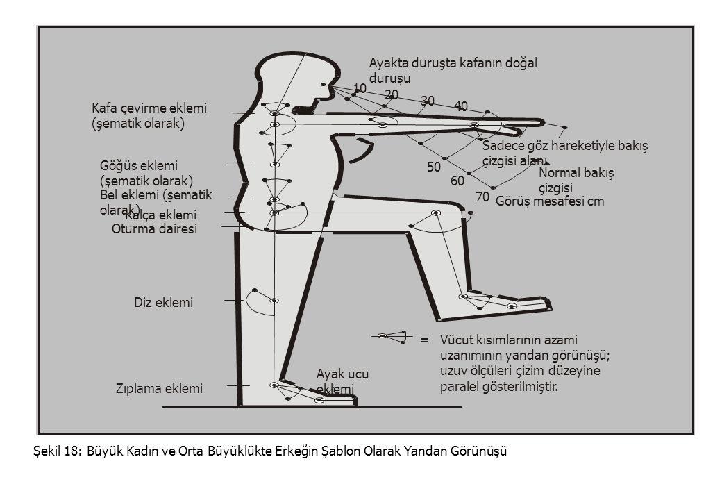 REFA-TEMEL EĞİTİMİ Ünite 19: İş Düzenlemesi Ağırlık Merkezleri Şekil 3: Antropometrik Bakış Açılarına Göre İş Düzenlemenin Hedefleri © MESS - REFA l i j i l i l it it l i t j i- l i t l l irt Çalışma yeri öğelerininAmaç: İnsan vücut ölçülerine Biçimsel ve geometrik olarak uyarlanması