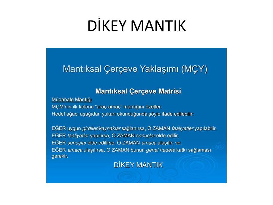 DİKEY MANTIK