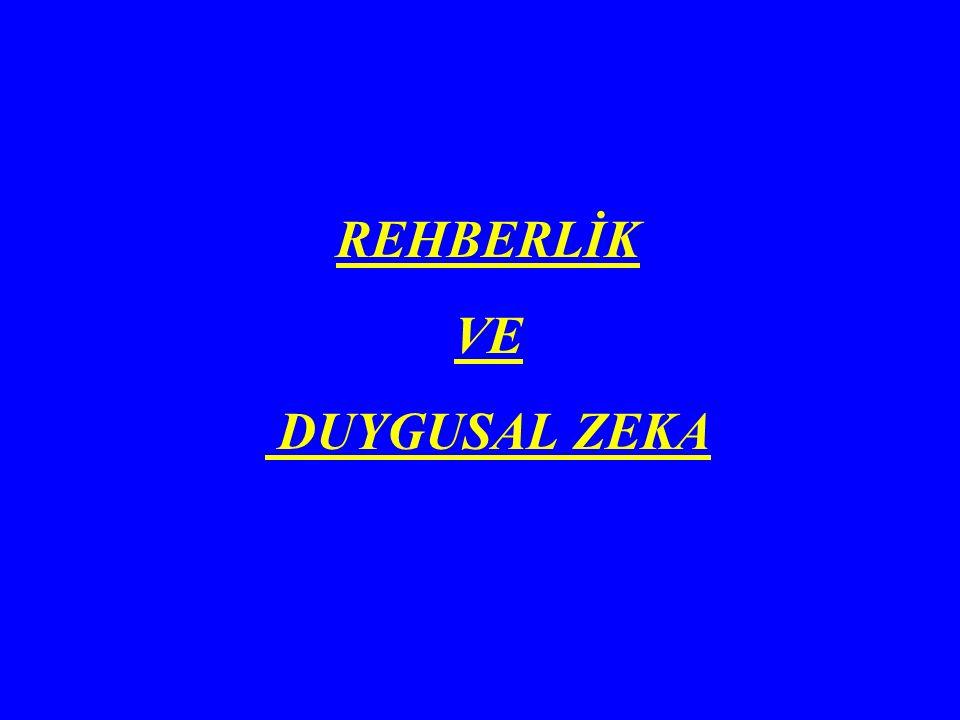 REHBERLİK VE DUYGUSAL ZEKA