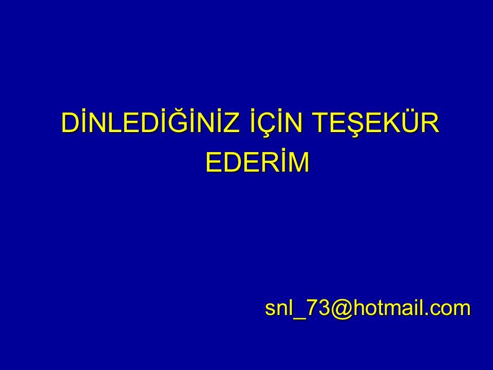 DİNLEDİĞİNİZ İÇİN TEŞEKÜR EDERİM EDERİMsnl_73@hotmail.com