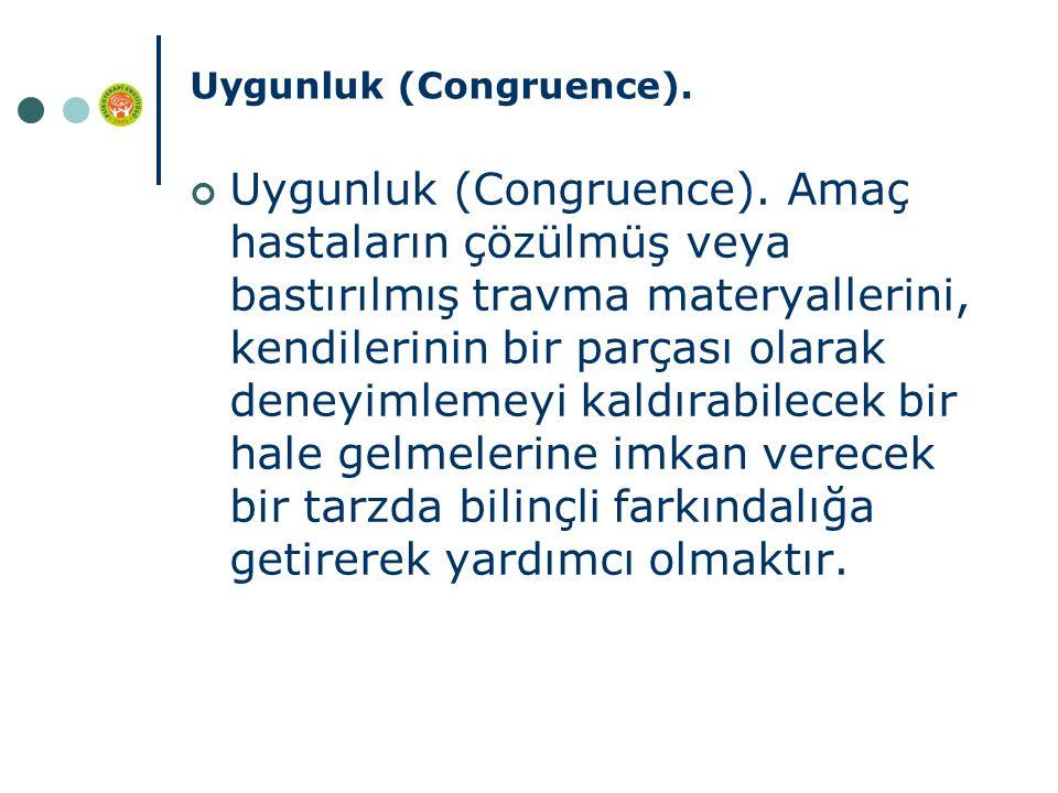 Uygunluk (Congruence).Uygunluk (Congruence).
