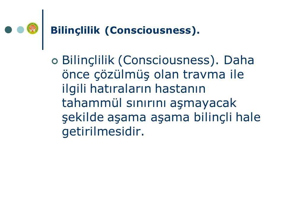 Bilinçlilik (Consciousness).Bilinçlilik (Consciousness).