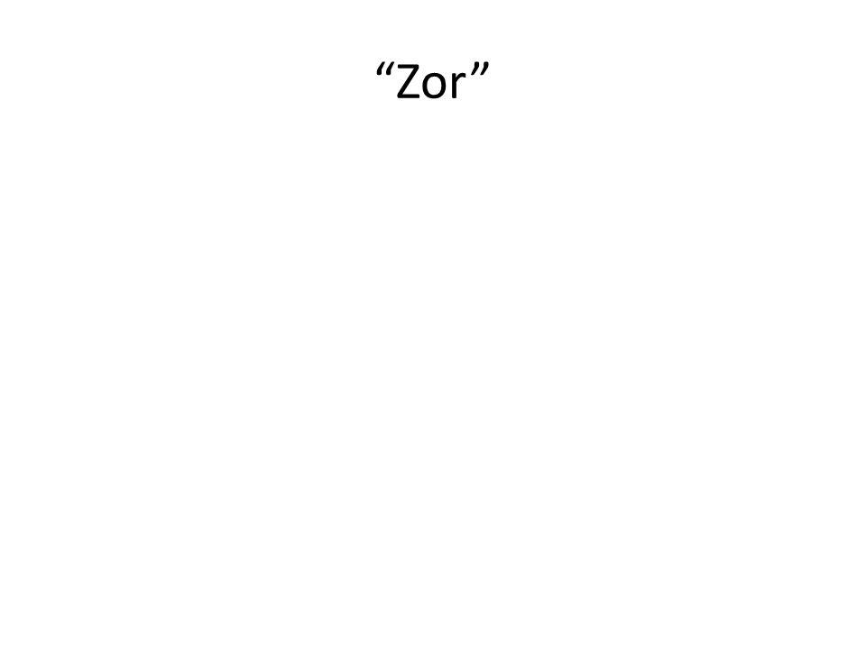 """""""Zor"""""""